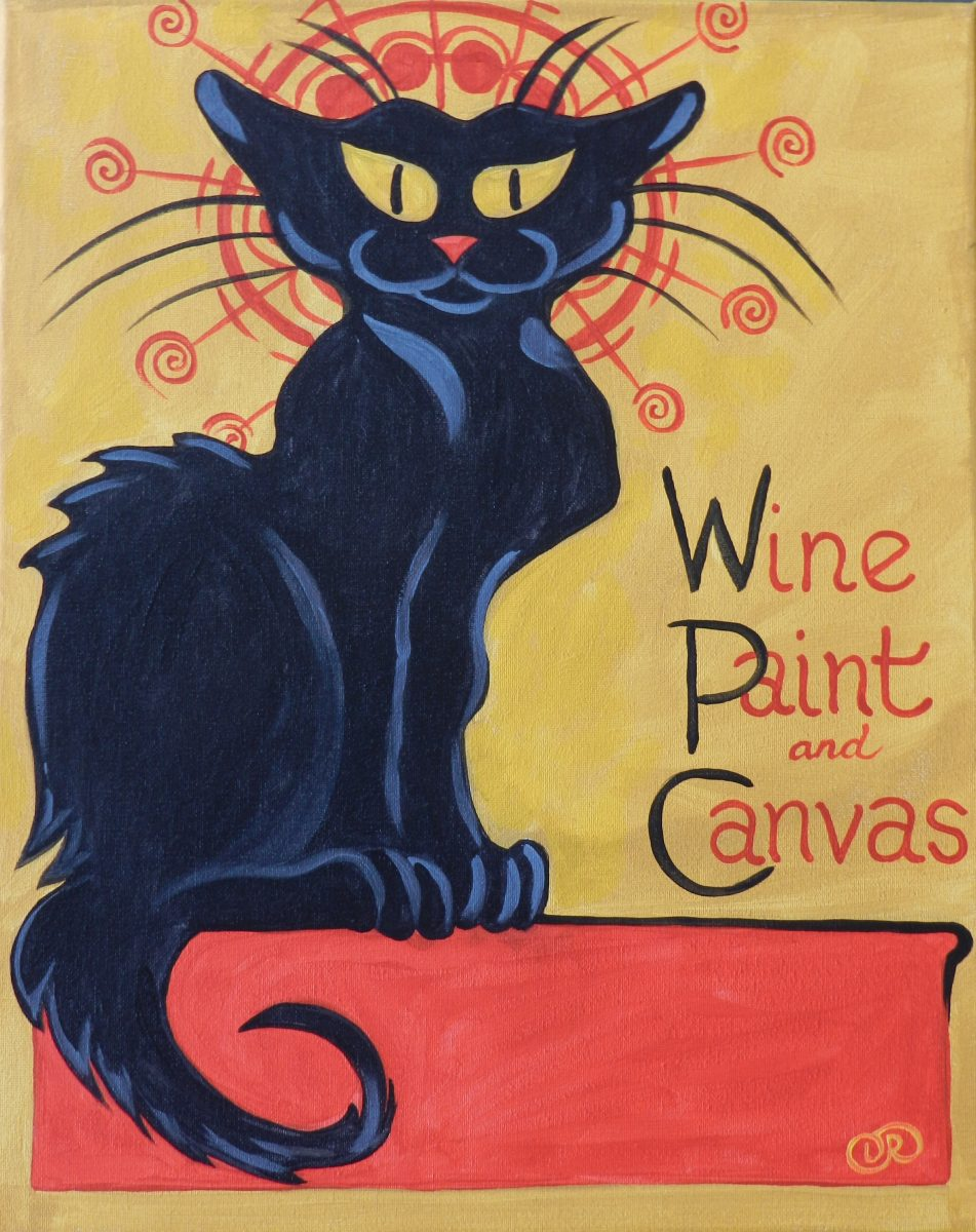 le chat wine paint create hope mills wine paint