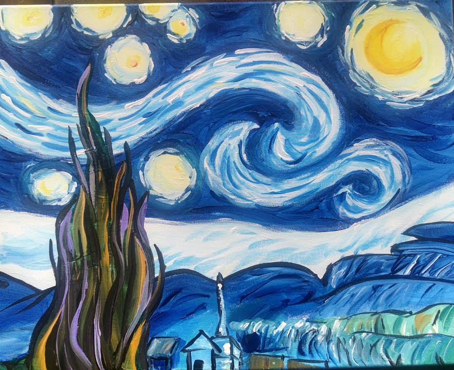 starry night painting essay Read this essay on art starry night come browse our large digital warehouse of free sample essays get the knowledge you need in order to pass your in this essay i will be comparing and contrasting the great pablo picasso and vincent van gogh as well as their beautiful and famous paintings.